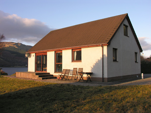 The exterior of the Seaside Cottage